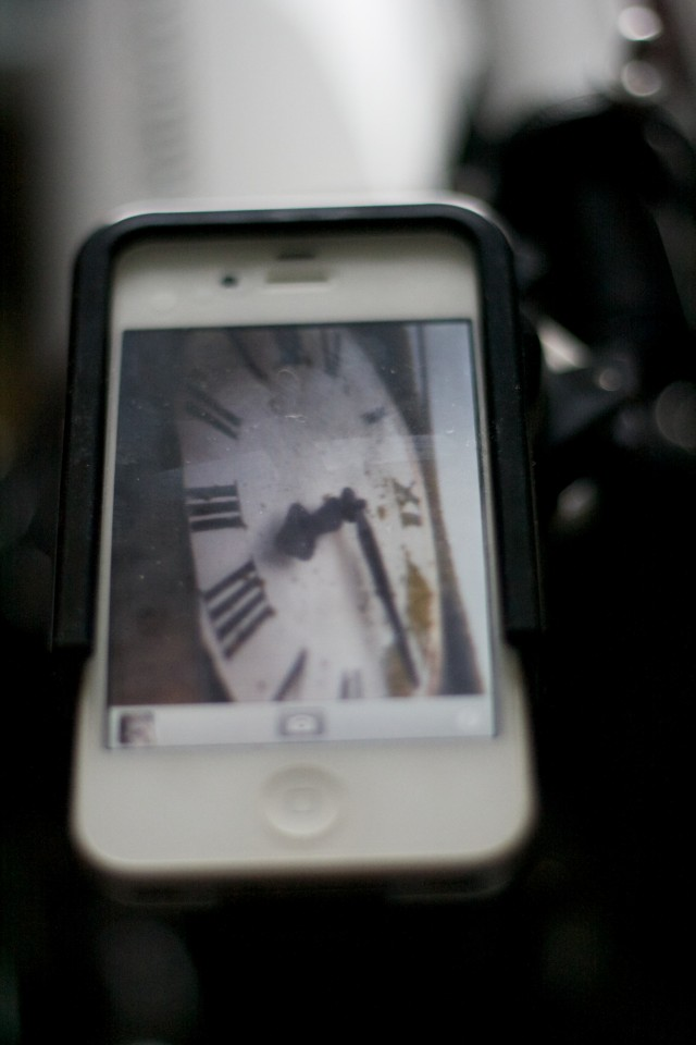 Clock using Cortex Cam